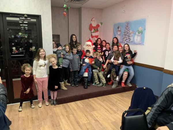 Chapter Icaros Member Appreciation Dinner and Santa Visit 2019