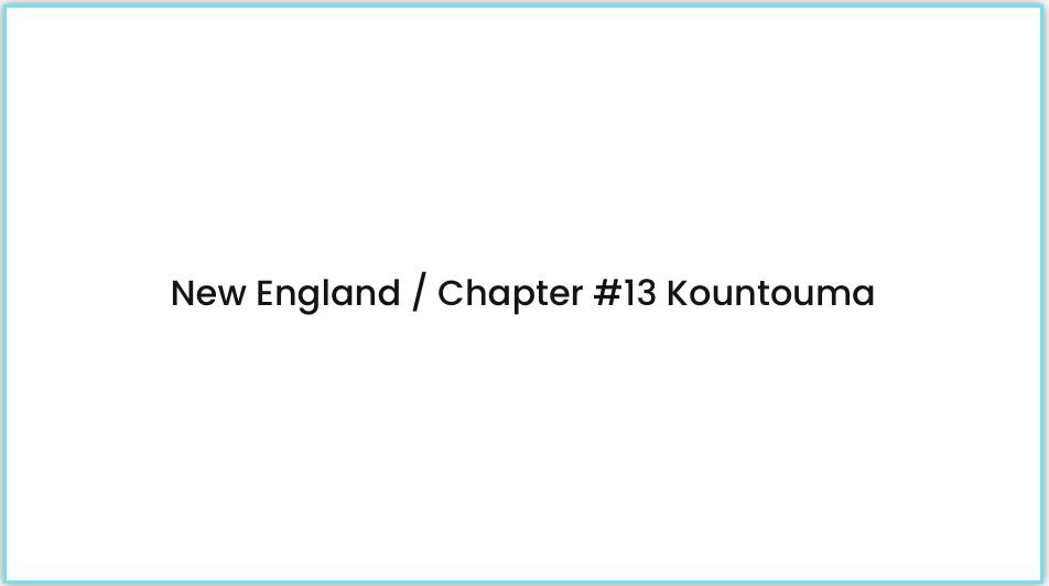 new england chapter 13 kountouma